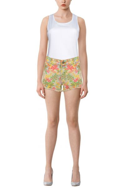 "*GEHEIMTIPP* Shorts ""Flowers Allover"" - multicolor"