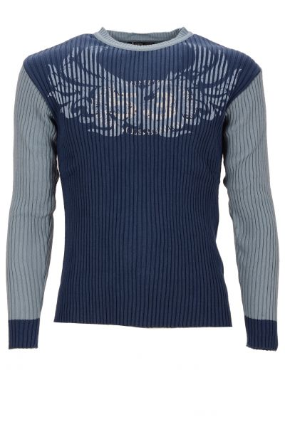 Rusty Neal PULLOVER TRIBAL BLUE