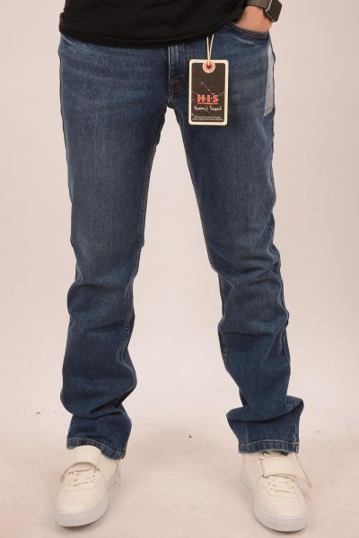 "H.I.S Jeans ""Randy"" Straight-Cut - medium blue 1021"