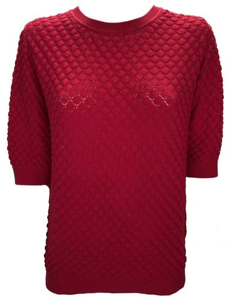 "b.young ""Odiana Turtle"" Pullover - raspberry"
