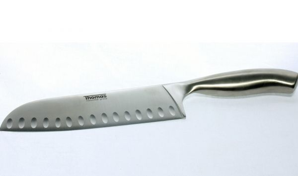 Thomas Rosenthal Santoku Messer 175mm - silber