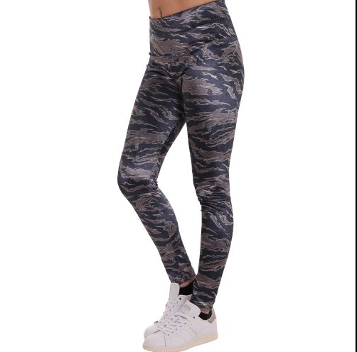 D & A Performance Leggings - camo design 8
