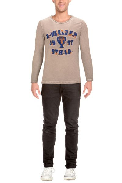 Rusty Neal LONGSLEEVE SURFER GREY