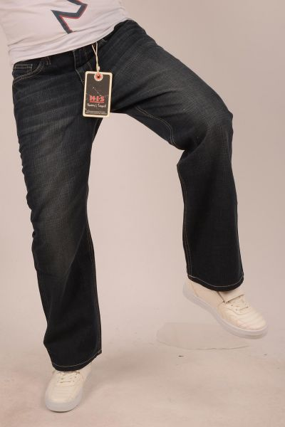 "H.I.S Jeans ""Henry"" Straight-Cut Jean - dirty washed 3023"